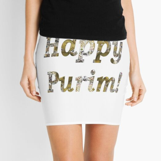 Happy Purim! Mini Skirt