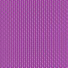 Maia (white on purple) Leggings by James Hutson