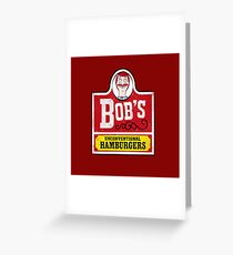Unconventional Burgers Greeting Card