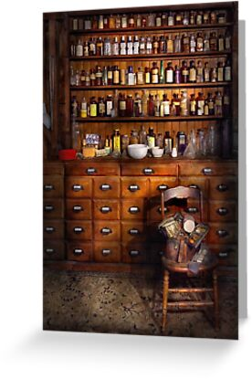 Apothecary - Just the usual selection by Michael Savad