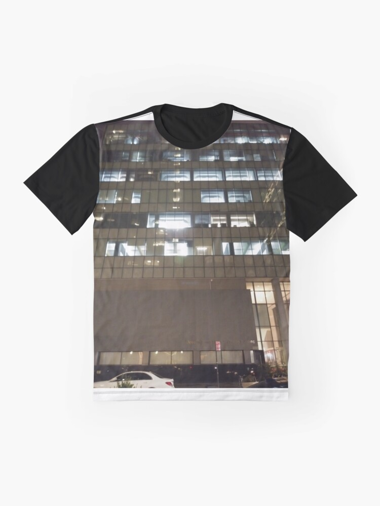 Alternate view of Building Graphic T-Shirt