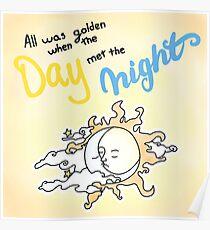 Als der Tag die Nacht P! ATD traf Poster