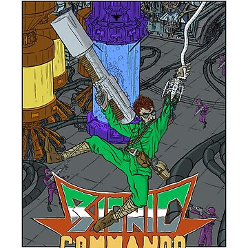 Bionic Commando - NES Tribute Series 1 by scottogara
