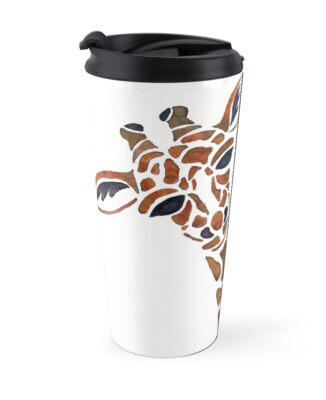 Exciting Giraffe Travel Mug Contemporary - Best Image Engine ...