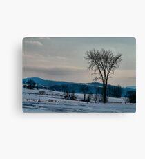 Berkshire Landscape Scene Canvas Print