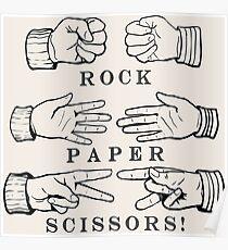 Rock, Paper, Scissors! Poster