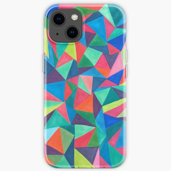 Triangles iPhone Soft Case
