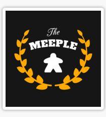 The Meeple - Meeples Board Games - Board Game Tabletop Nerd and Geek Sticker