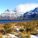 Cradle Mountain across Dove Lake. Tasmania by Paul Gilbert
