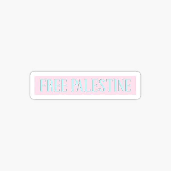 Free Palestine Sticker