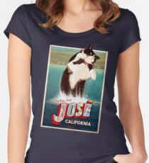 DOLLOP - JOSORCA (clothing) Women's Fitted Scoop T-Shirt