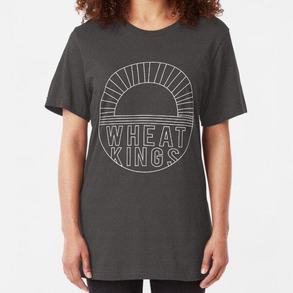Wheat Kings (white) - Tragically Hip Slim Fit T-Shirt