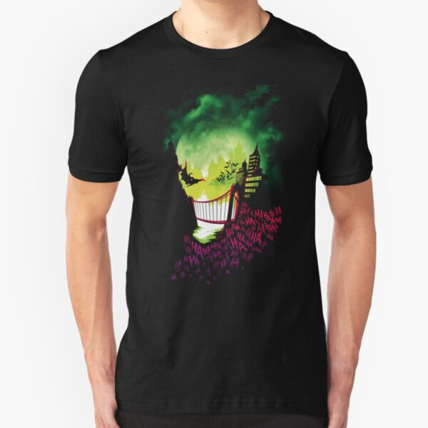 City of Smiles Slim Fit T-Shirt