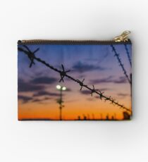 Barbed wire fence Studio Pouch