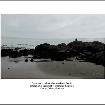 Absence to Love, Solitude at Goose Rocks Beach, York, Maine by waynedking