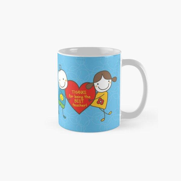Teacher Appreciation Gifts - Blue Classic Mug