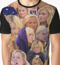 Leslie Knope Parks And Rec Graphic T-Shirt