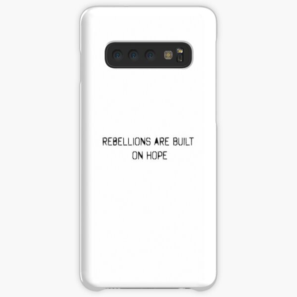 rebellions are built on hope Samsung Galaxy Snap Case