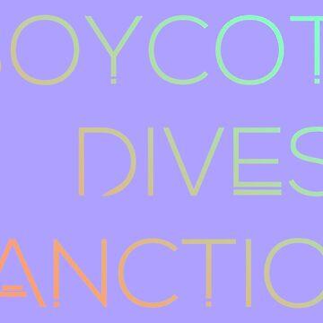 Boycott Divest Sanction by pommunist