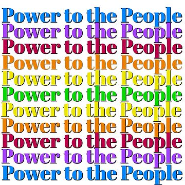Power to the People - Resist! by Bernflag