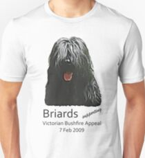 Black Briards supporting Bushfire Relief Unisex T-Shirt