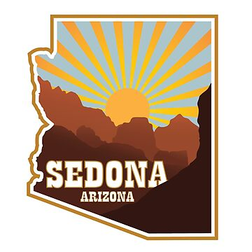 Sedona Arizona Badge by JPDesignsStuff