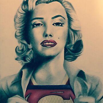 Monroe... by Shredart23b