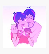 Klance Hug: Variation-Color Photographic Print