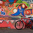 Wall of Color by Sue  Cullumber