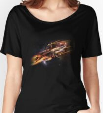 Sharktopus, in Space with Lasers! Women's Relaxed Fit T-Shirt