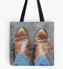 One step at a time Tote Bag