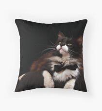 Watch the Birdie Throw Pillow