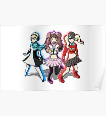 Persona Dancing Moon/All/Star Night girls Poster