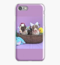 Easter Puppies iPhone Case/Skin