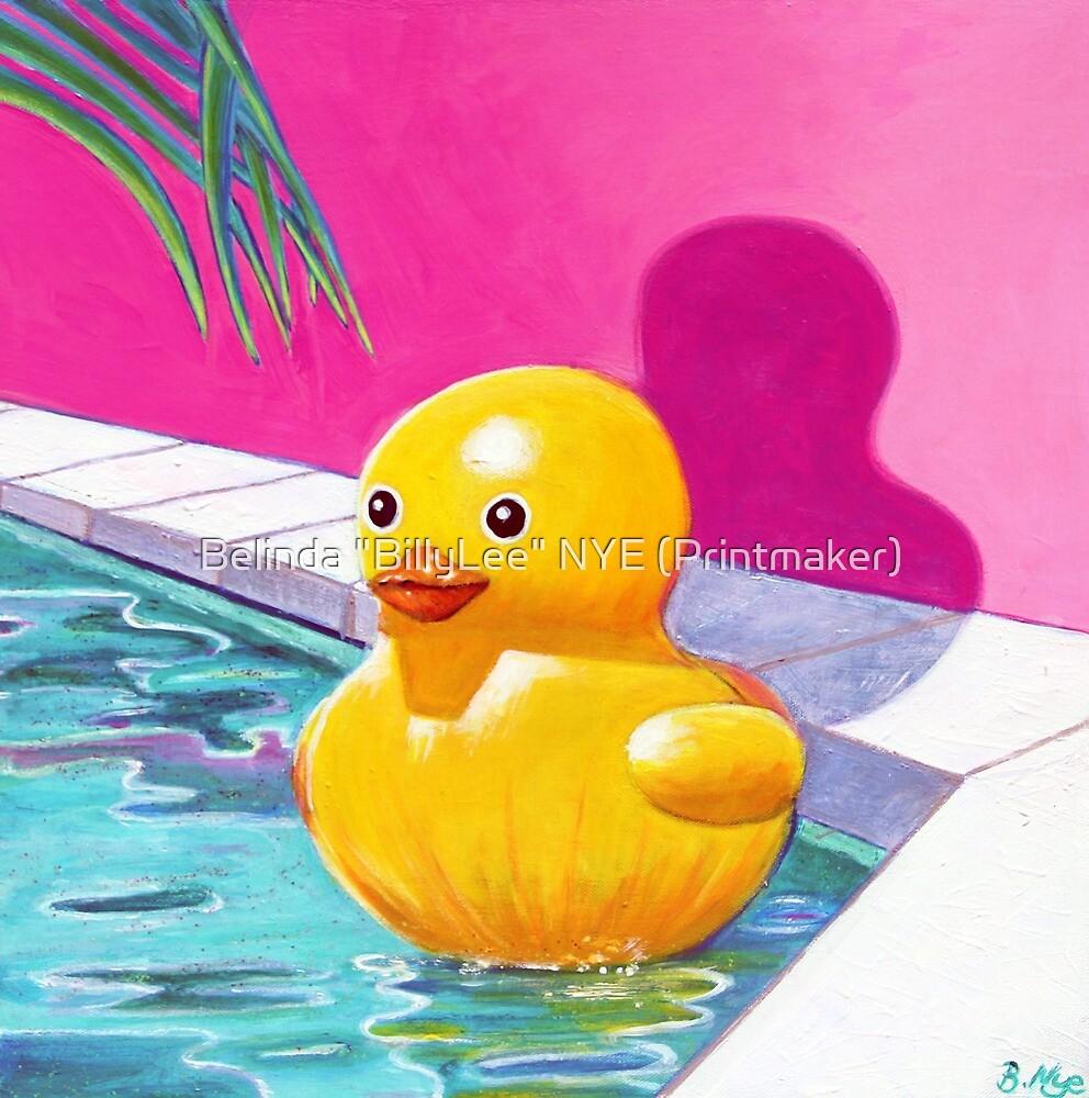 """Cindy the Pool Toy by Belinda """"BillyLee"""" NYE (Printmaker)"""