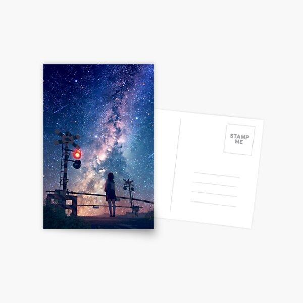 Ciel cosmique Carte postale