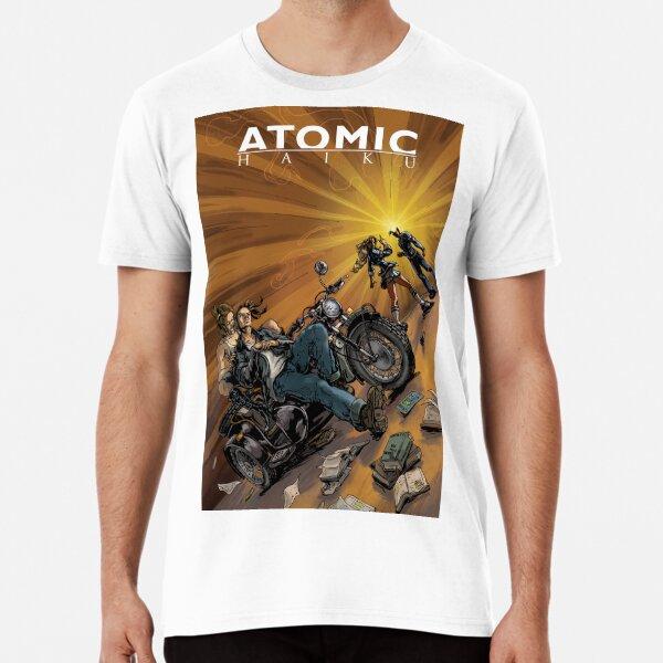 Atomic Haiku, a Boy and his Motorcycle Premium T-Shirt