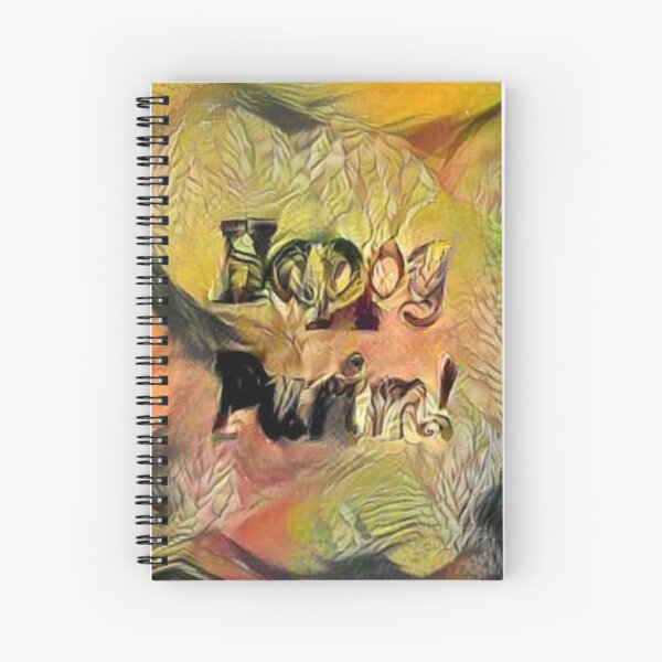 Happy Purim! Spiral Notebook