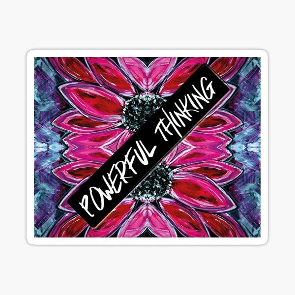 Powerful Thinking Sticker