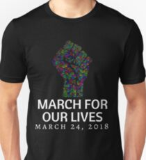 March for our Lives T Shirt 2018 Student Activists Unisex T-Shirt