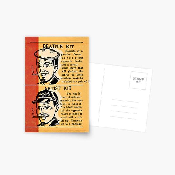 Be a Beatnik AND an Artist! Postcard