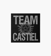 Supernatural Team Castiel Art Board