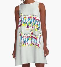 Happy Purim! A-Line Dress