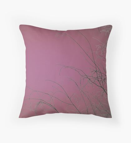 Waiting To Bloom IV Throw Pillow