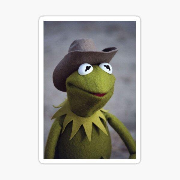 Cowboy Kermit Sticker