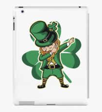 Funny St. Patricks Day Dilly Shirt Dav iPad Case/Skin