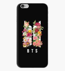BTS NEUE LOGO FRÜHLINGSBLUMEN v4 Schwarz - Multiprodukt iPhone-Hülle & Cover