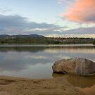 Lilydale Lake beach by Joel McDonald