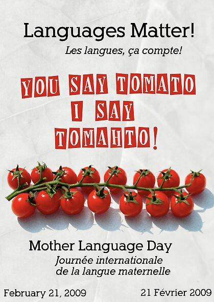 Languages Matter  by Joe Matter
