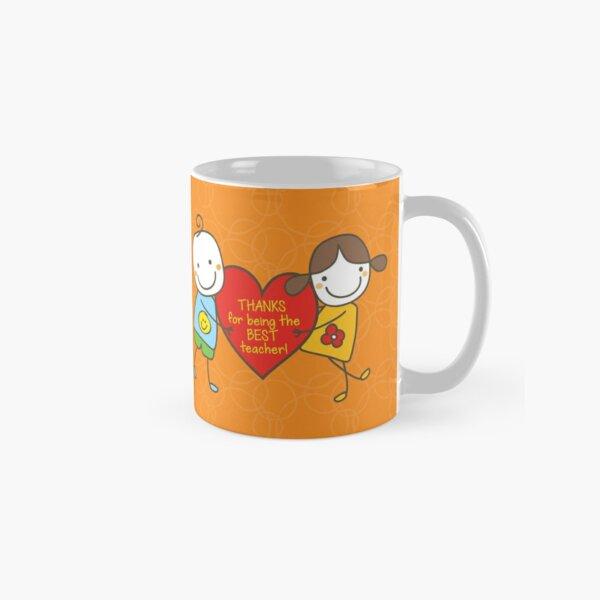 Teacher Appreciation Gifts - Orange Classic Mug